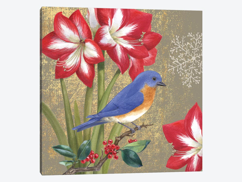 Bluebird I by Beth Grove 1-piece Canvas Print