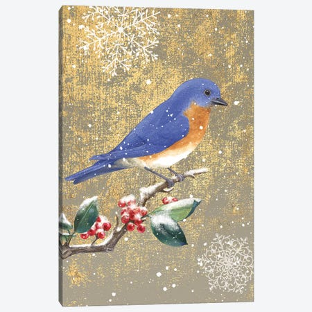 Bluebird II Canvas Print #WAC4758} by Beth Grove Canvas Art Print