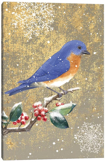 Bluebird II Canvas Art Print