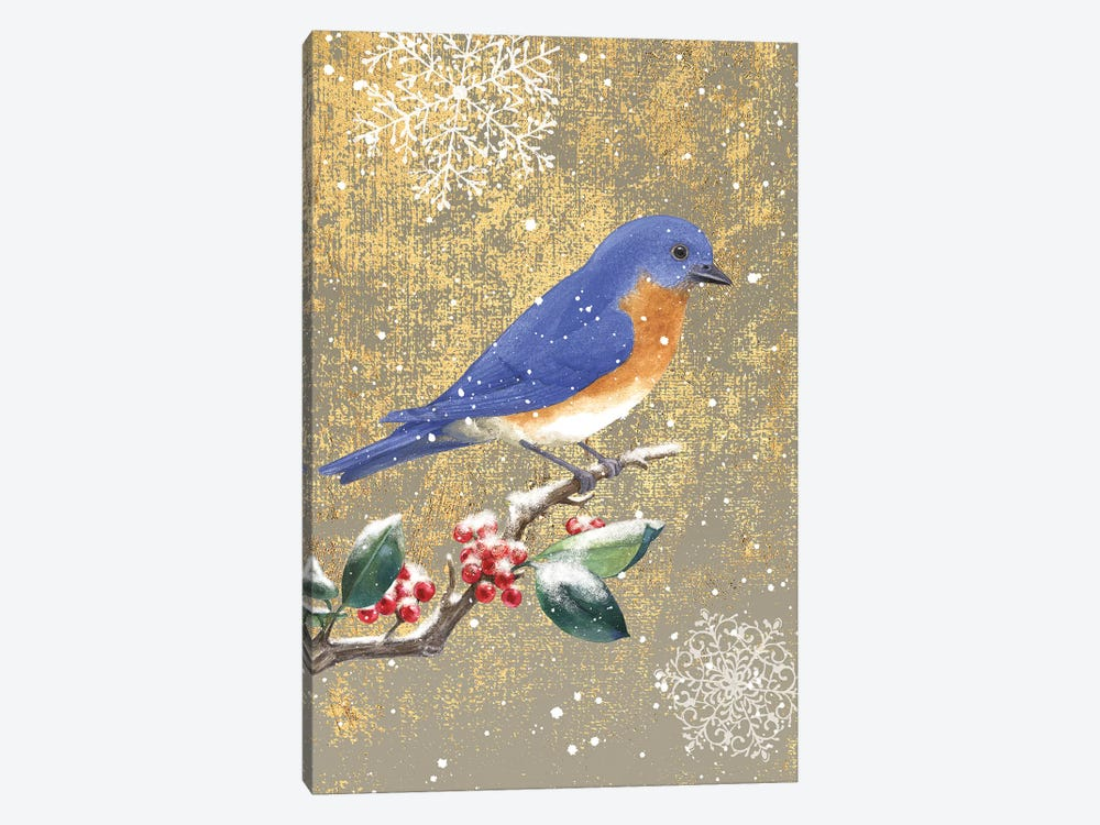 Bluebird II by Beth Grove 1-piece Canvas Artwork