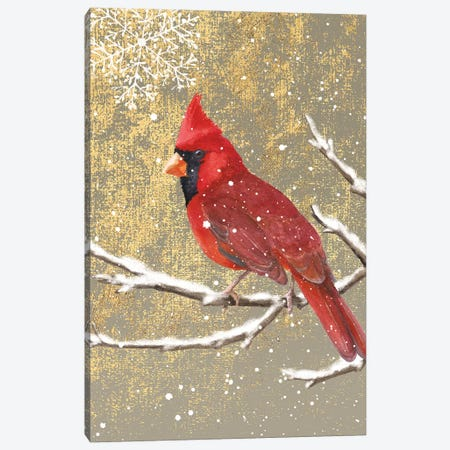 Cardinal I Canvas Print #WAC4760} by Beth Grove Canvas Art
