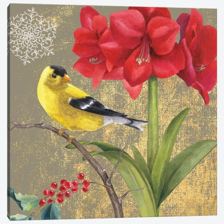 Goldfinch I Canvas Print #WAC4763} by Beth Grove Canvas Artwork