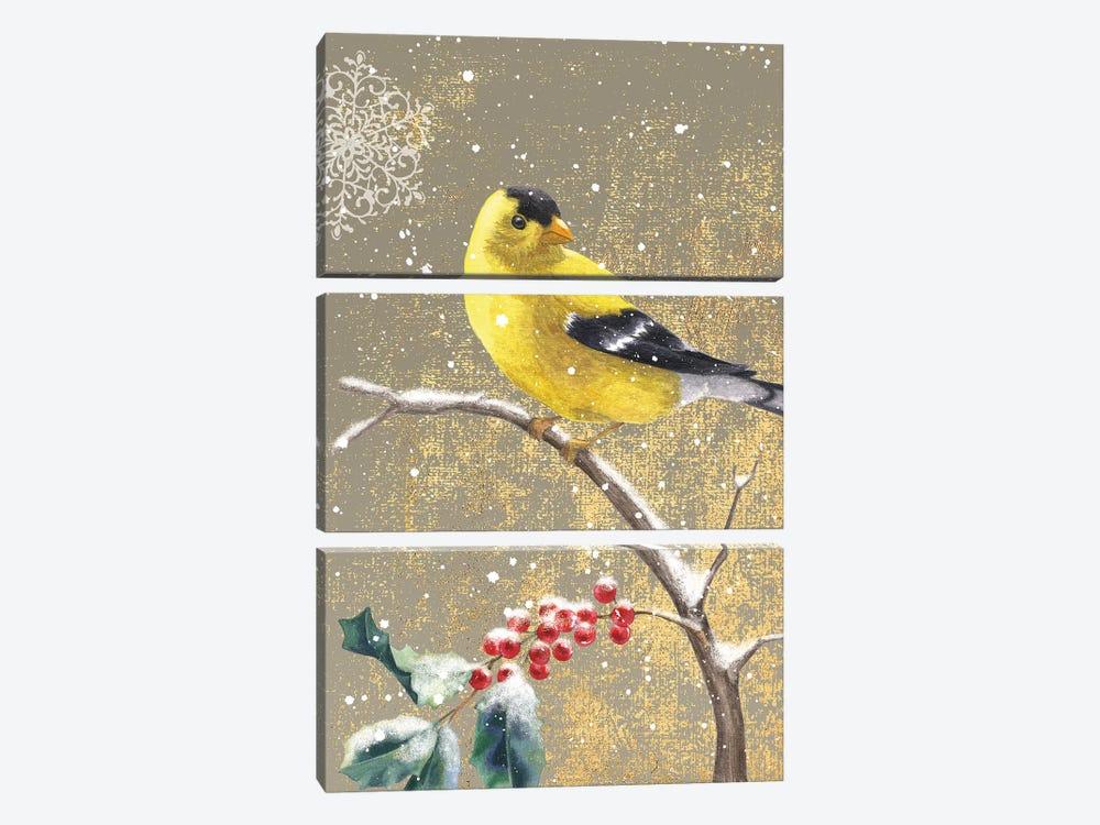 Goldfinch II by Beth Grove 3-piece Art Print