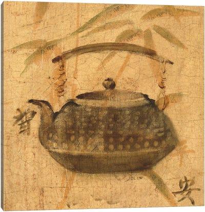 Asian Teapot III Canvas Art Print