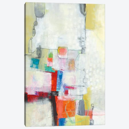 A Day In The City Canvas Print #WAC4774} by Jane Davies Canvas Artwork