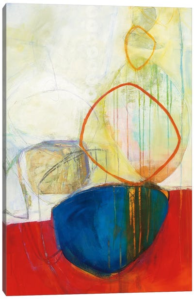 Circle Tower I Canvas Art Print