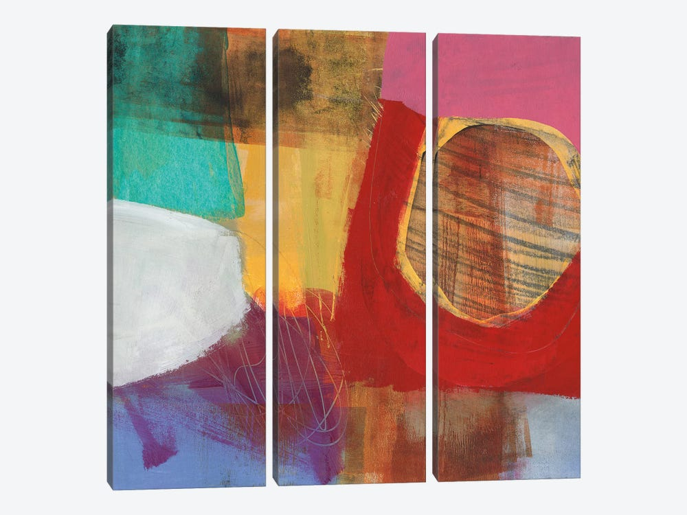 Fun Colors II by Jane Davies 3-piece Canvas Art Print