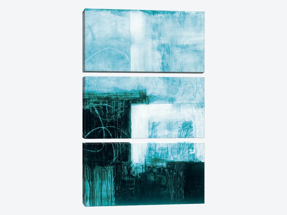 A Wintry Day III.A by Jane Davies 3-piece Canvas Wall Art