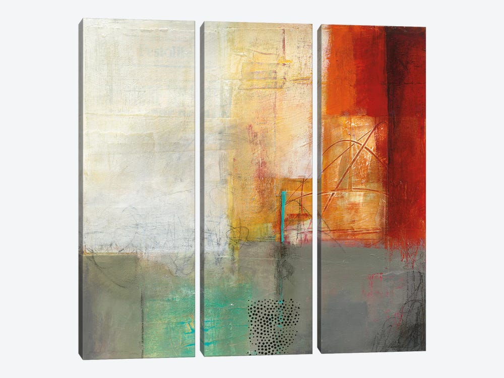 Warmth V by Jane Davies 3-piece Canvas Print