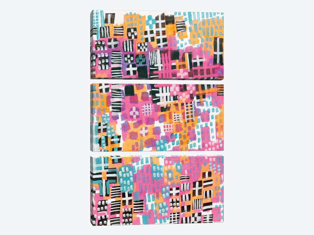 City Lights by Melissa Averinos 3-piece Art Print
