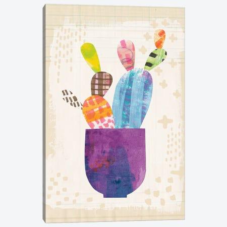 Collage Cactus III.A Canvas Print #WAC4805} by Melissa Averinos Canvas Artwork