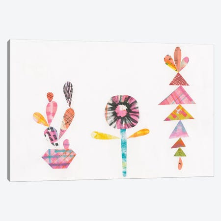 Collage Cactus IX Canvas Print #WAC4808} by Melissa Averinos Canvas Art Print
