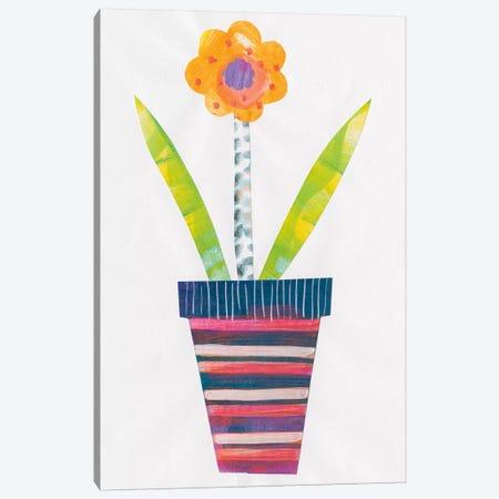 Collage Flower II Canvas Print #WAC4815} by Melissa Averinos Art Print