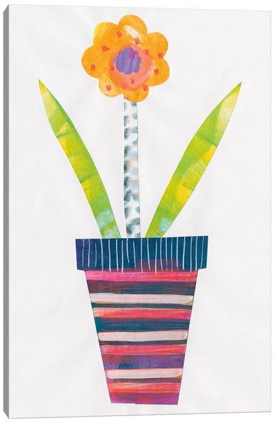 Collage Flower II Canvas Art Print