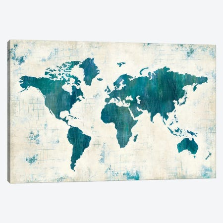 Discover The World II Canvas Print #WAC4817} by Melissa Averinos Canvas Art Print