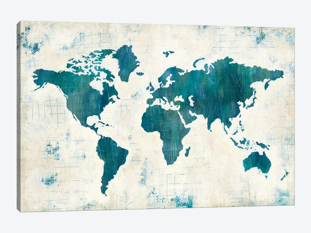 Discover The World II by Melissa Averinos 1-piece Art Print