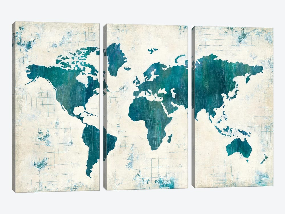 Discover The World II by Melissa Averinos 3-piece Art Print