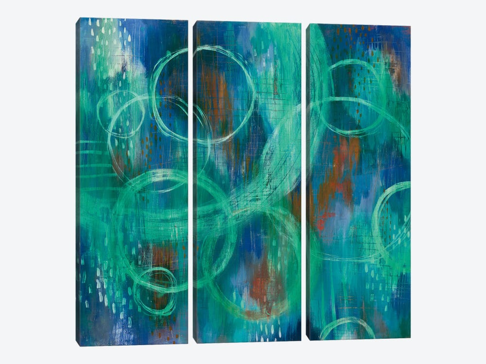 Sky Fields by Melissa Averinos 3-piece Canvas Art Print