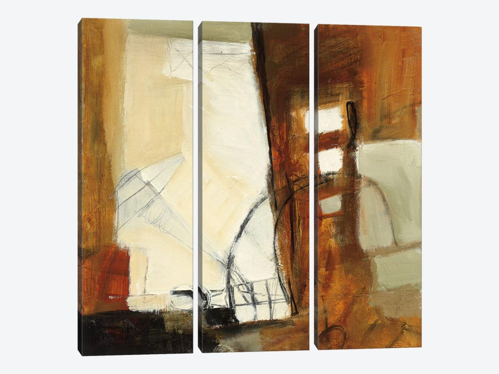 Study No. 122 by CJ Anderson 3-piece Canvas Wall Art