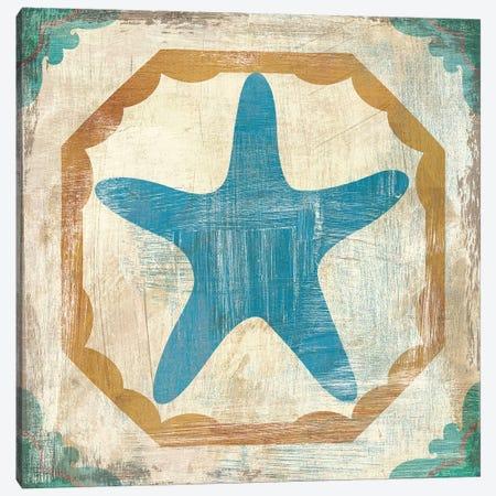 Bohemian Sea Tiles IX Canvas Print #WAC4826} by Cleonique Hilsaca Canvas Art