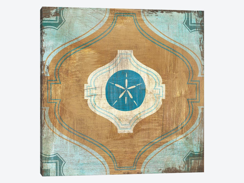 Bohemian Sea Tiles VII by Cleonique Hilsaca 1-piece Art Print