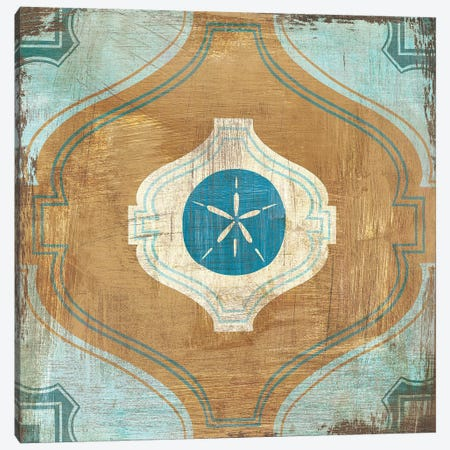 Bohemian Sea Tiles VII Canvas Print #WAC4828} by Cleonique Hilsaca Art Print