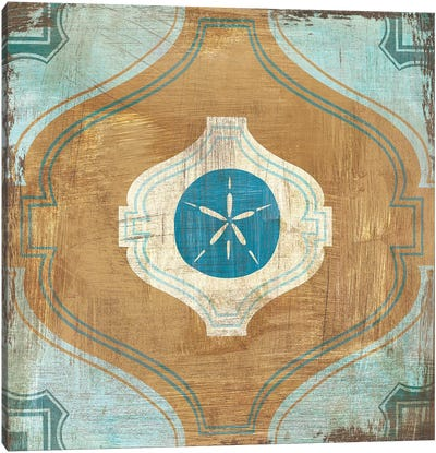 Bohemian Sea Tiles VII Canvas Art Print