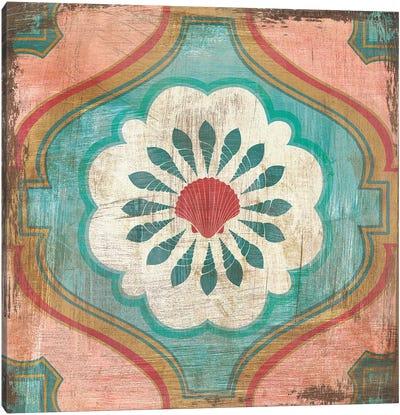 Bohemian Sea Tiles VIII Canvas Art Print