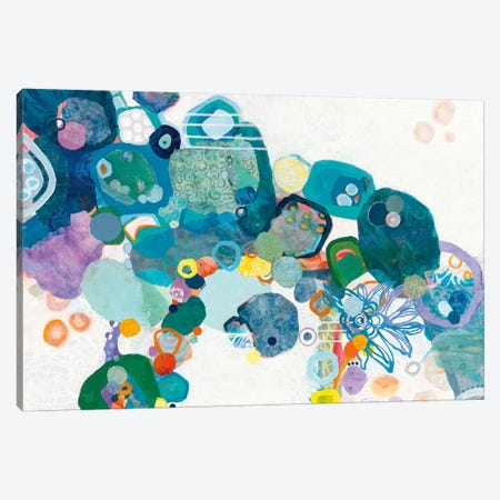 Bridging Our Differences Canvas Print #WAC4838} by Kathy Ferguson Canvas Artwork
