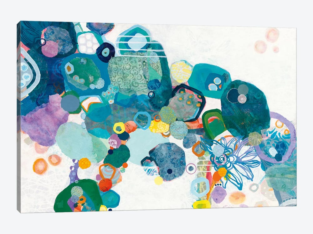 Bridging Our Differences by Kathy Ferguson 1-piece Canvas Artwork