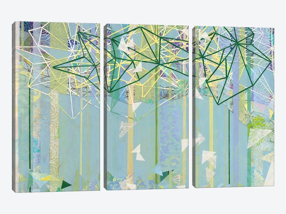 Hanging Around III by Kathy Ferguson 3-piece Canvas Artwork