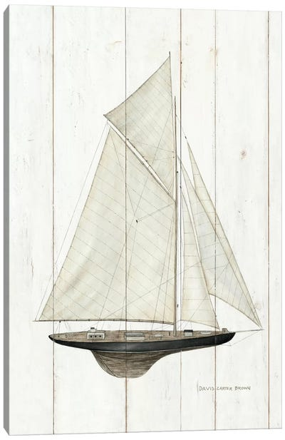 Sailboat I Canvas Art Print
