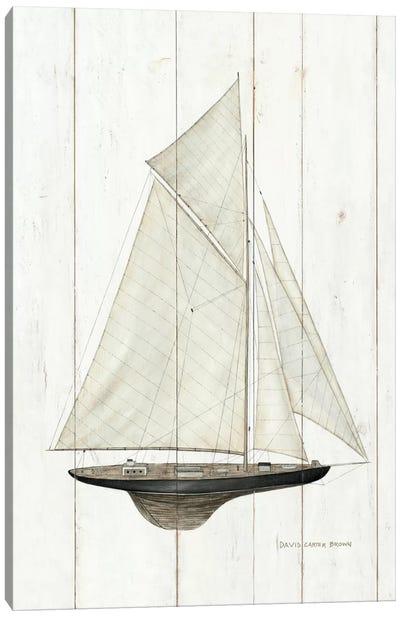 Sailboat I Canvas Print #WAC484