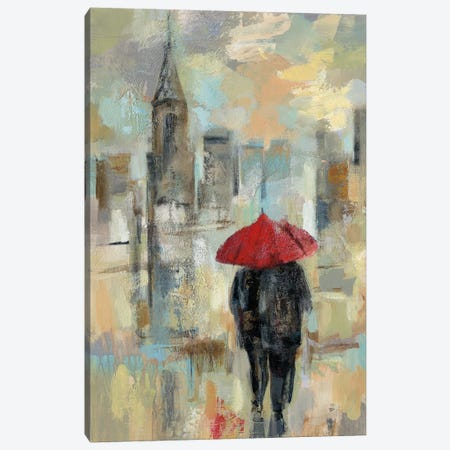 Rain In The City I Canvas Print #WAC4857} by Silvia Vassileva Canvas Art Print