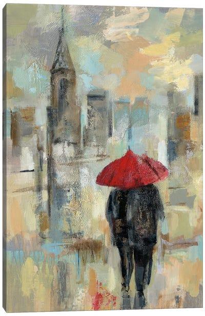Rain In The City I Canvas Print #WAC4857