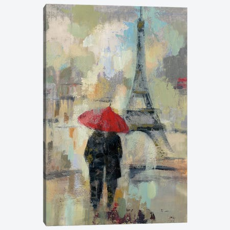 Rain In The City II Canvas Print #WAC4858} by Silvia Vassileva Canvas Art