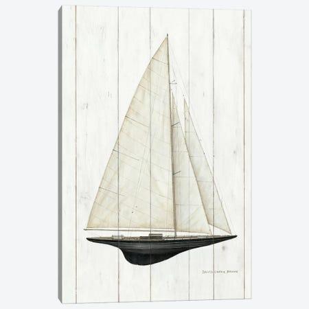 Sailboat II Canvas Print #WAC485} by David Carter Brown Art Print