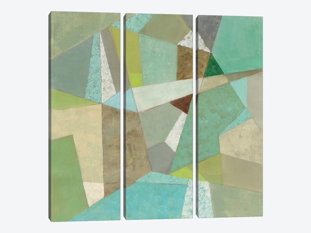 Spa Geo Metric by Silvia Vassileva 3-piece Art Print