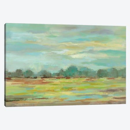 Teal Forest Canvas Print #WAC4862} by Silvia Vassileva Canvas Print