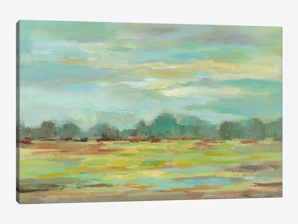 Teal Forest by Silvia Vassileva 1-piece Art Print