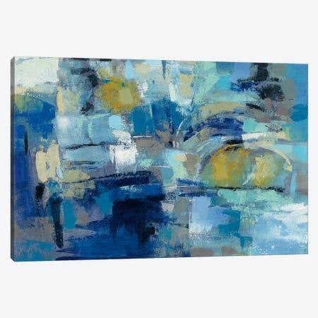 Ultramarine Waves III Canvas Print #WAC4863} by Silvia Vassileva Canvas Art Print