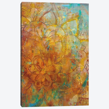 Bohemian Abstract Bright I Canvas Print #WAC4864} by Danhui Nai Canvas Wall Art