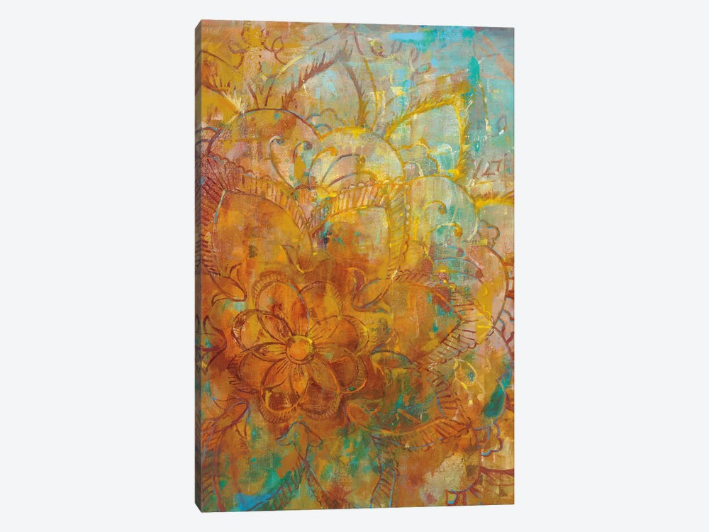 Bohemian Abstract Bright I by Danhui Nai 1-piece Canvas Art Print