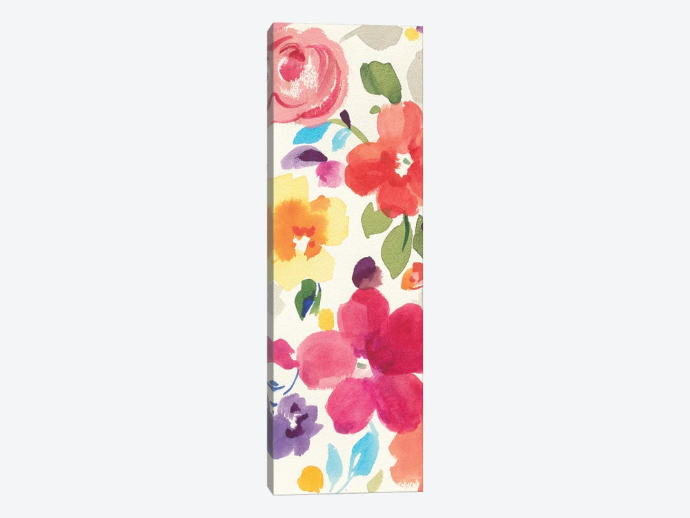 Popping Florals II by Danhui Nai 1-piece Canvas Print