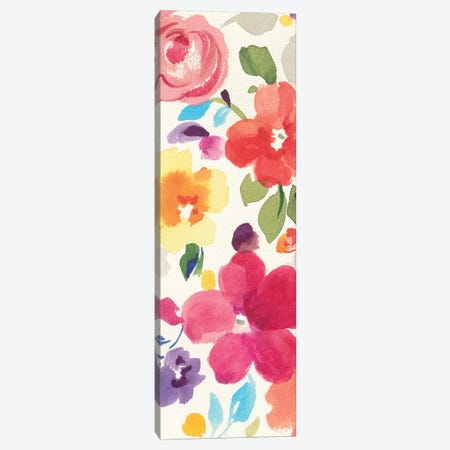 Popping Florals II Canvas Print #WAC4868} by Danhui Nai Canvas Art Print