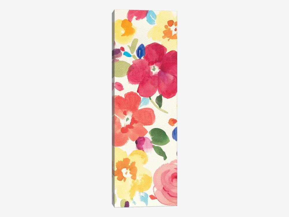 Popping Florals III by Danhui Nai 1-piece Canvas Art