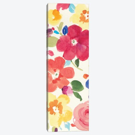 Popping Florals III Canvas Print #WAC4869} by Danhui Nai Art Print