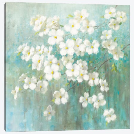 Spring Dream I Canvas Print #WAC4871} by Danhui Nai Canvas Art