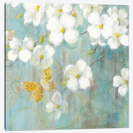 Spring Dream IV Canvas Print #WAC4873} by Danhui Nai Canvas Wall Art