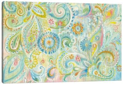 Spring Dream Paisley Canvas Art Print